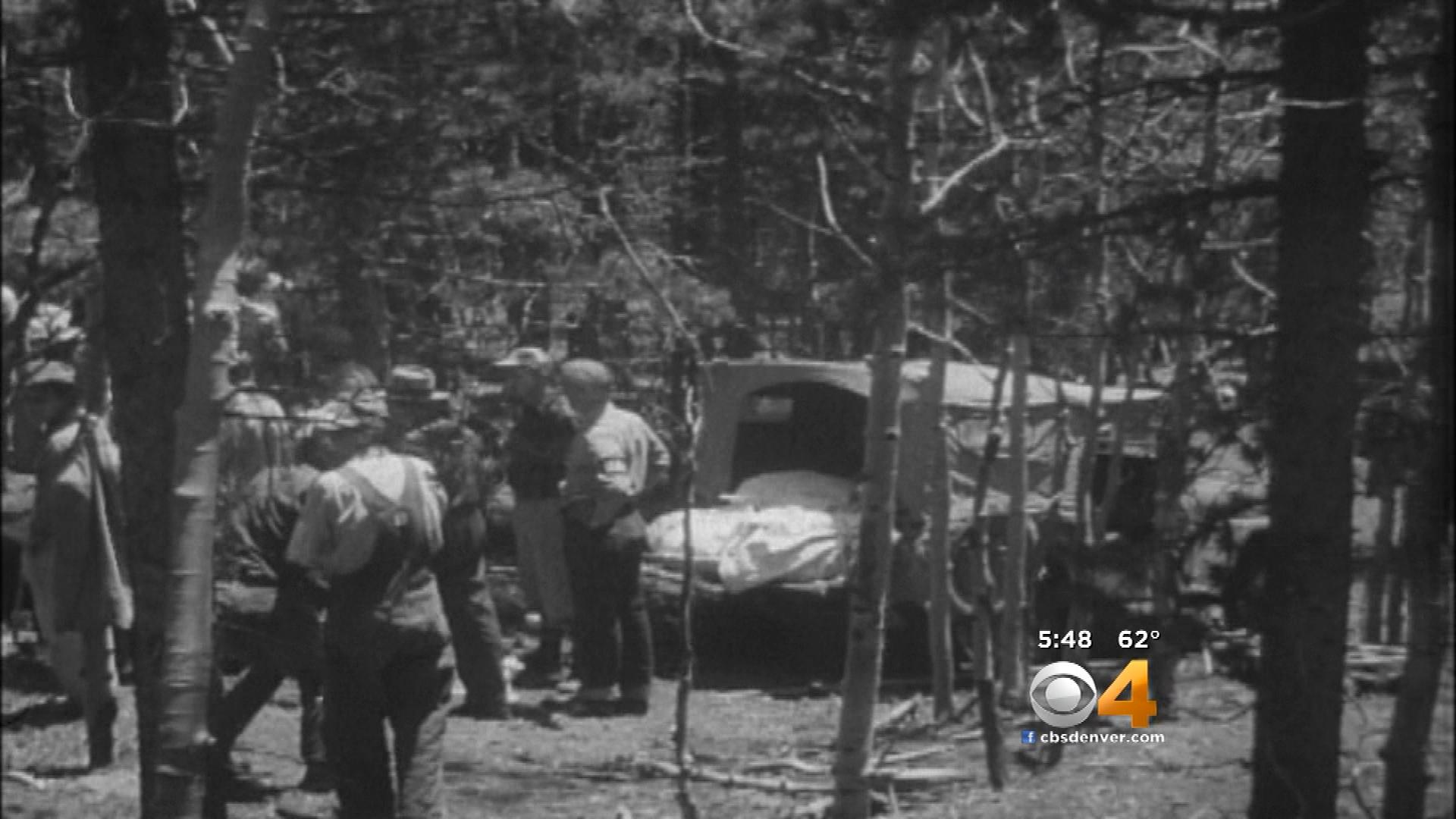News reel footage documents a crash decades ago. (credit: CBS)