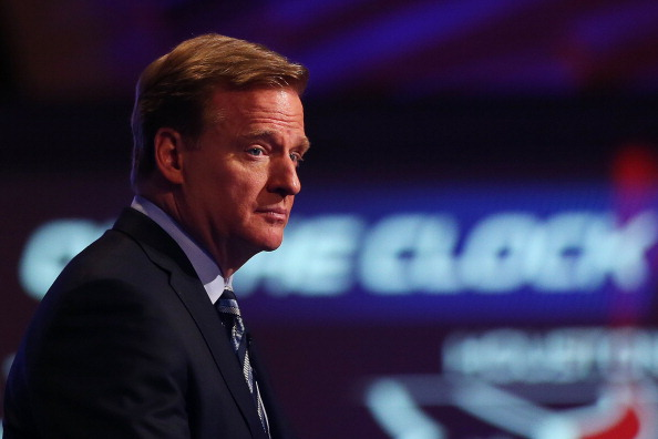 NFL Commissioner Roger Goodell (Photo by Elsa/Getty Images)