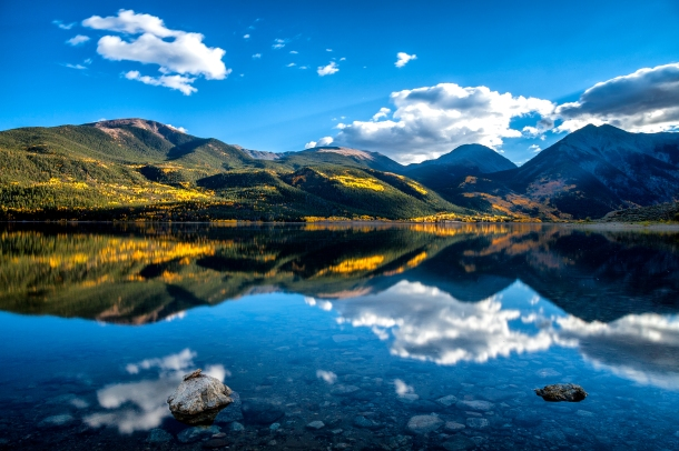 Mike Bywater took this photo at Twin Lakes on Sept. 24, 2015