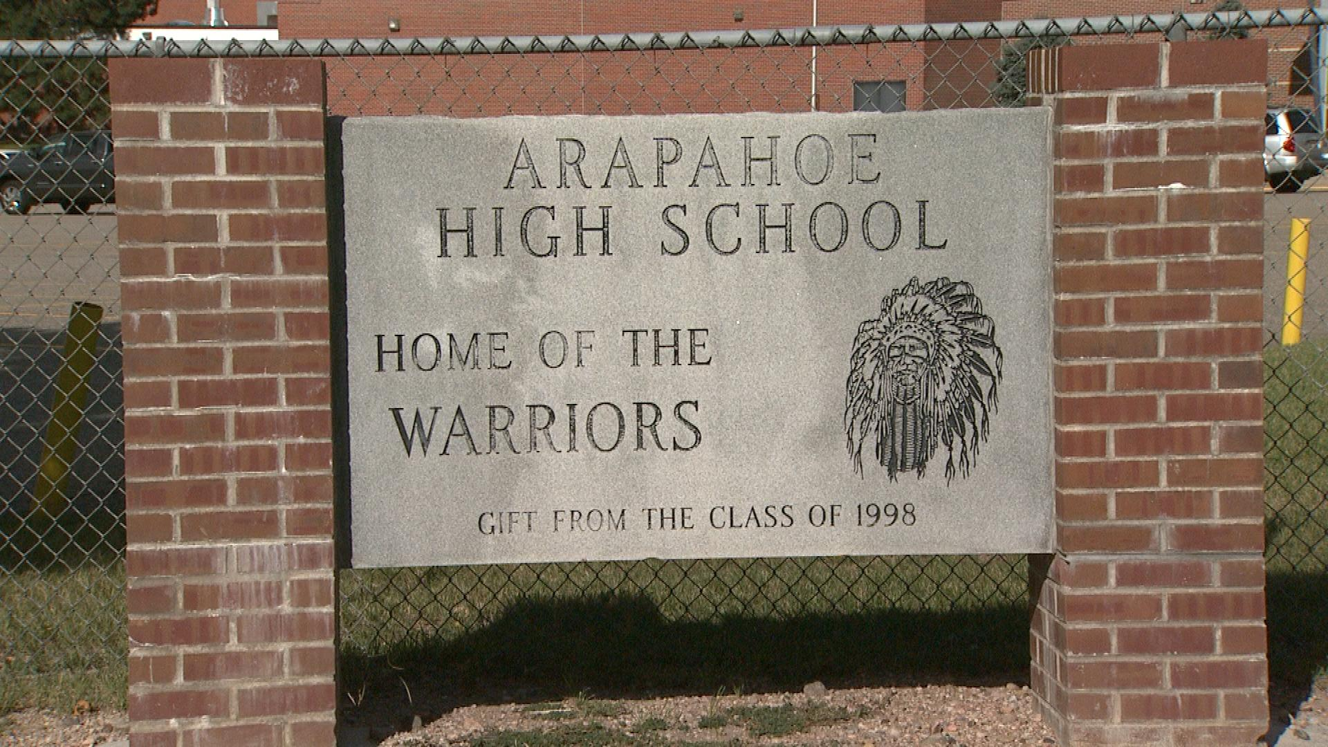 Arapahoe High School in Littleton sought permission to use Native American imagery. (credit: CBS)