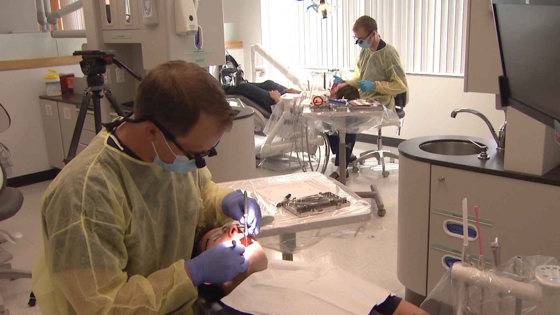 The University of Colorado School Of Dental Medicine  (credit: CBS)