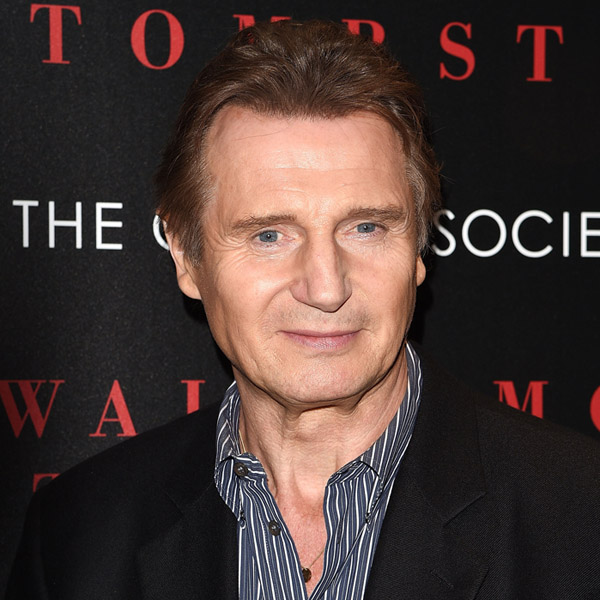 """NEW YORK, NY - SEPTEMBER 17: Actor Liam Neeson attends the Universal Pictures and Cross Creek Pictures with The Cinema Society screening of """"A Walk Among the Tombstones"""" at Chelsea Bow Tie Cinemas on September 17, 2014 in New York City."""