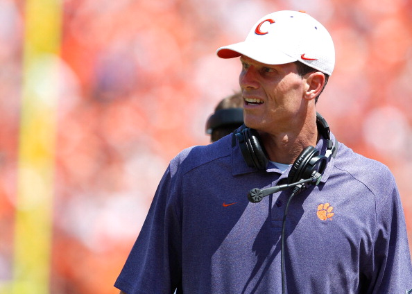 Defensive Coordinator Brent Venables of the Clemson Tigers. (Photo by Tyler Smith/Getty Images)