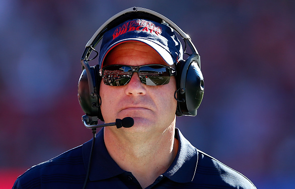 Head coach Rich Rodriguez of the Arizona Wildcats.  (Photo by Christian Petersen/Getty Images)