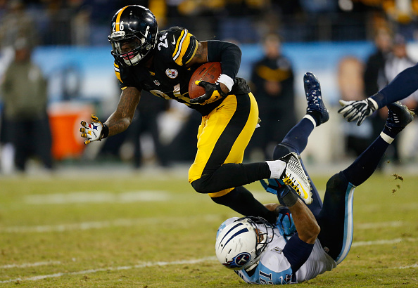 LeVeon Bell (credit: Wesley Hitt/Getty Images)