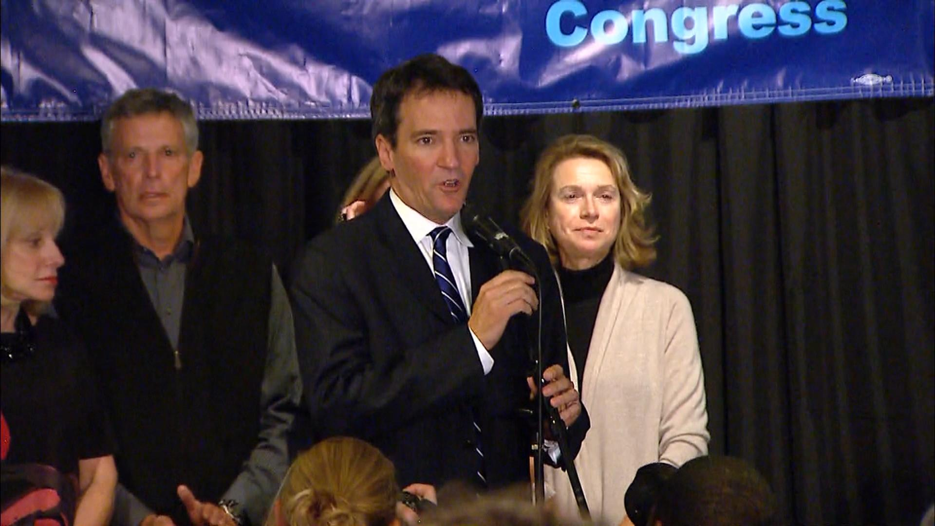 Andrew Romanoff concedes to Rep. Mike Coffman (credit: CBS)