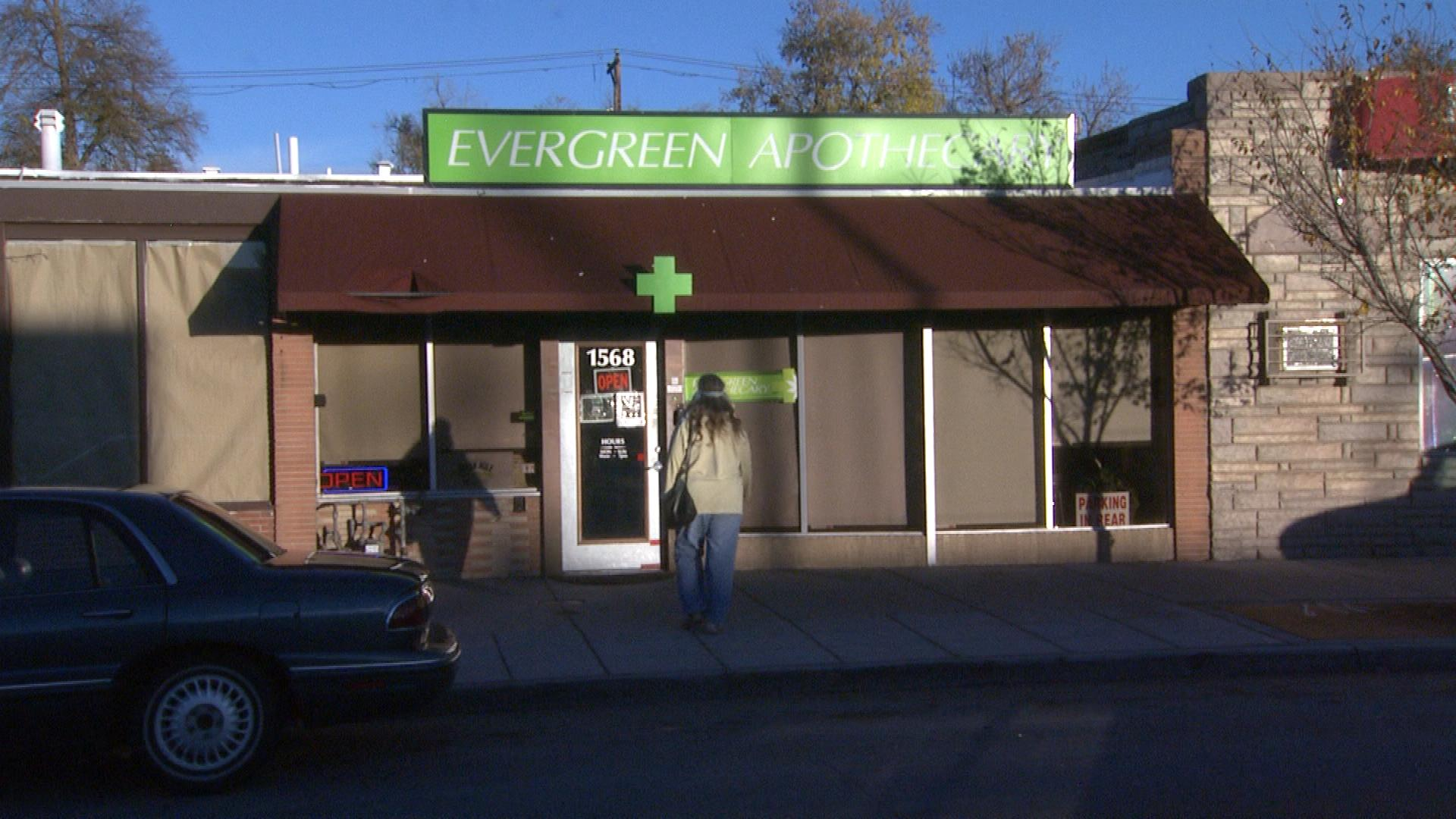 Evergreen Apothecary (credit: CBS)