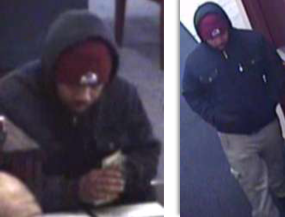 Images from the robbery on Nov. 5 (credit: Denver Police Department)
