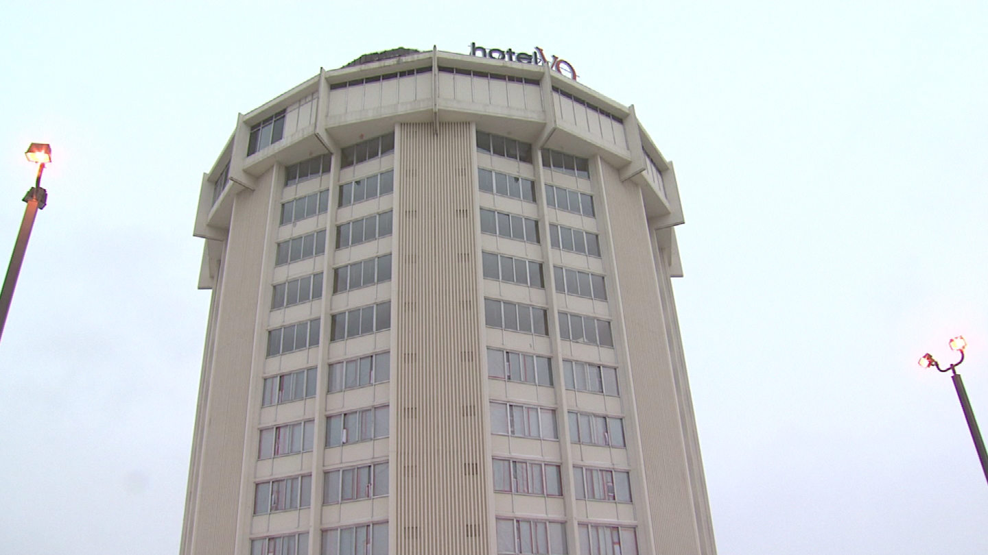 The old Hotel VQ (credit: CBS)