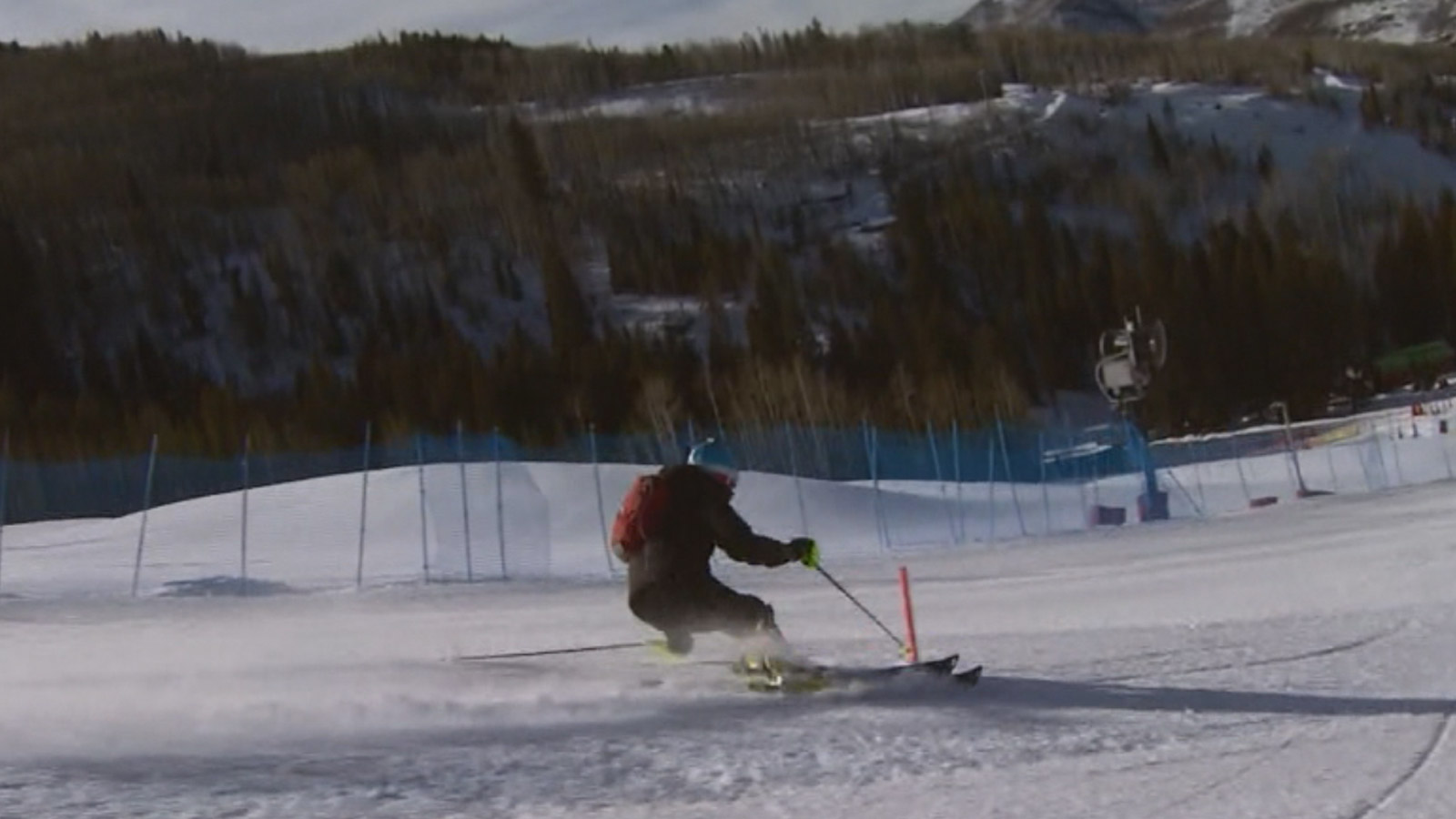 A skier study at Vail hopes to show dynamics of sport (credit: CBS)