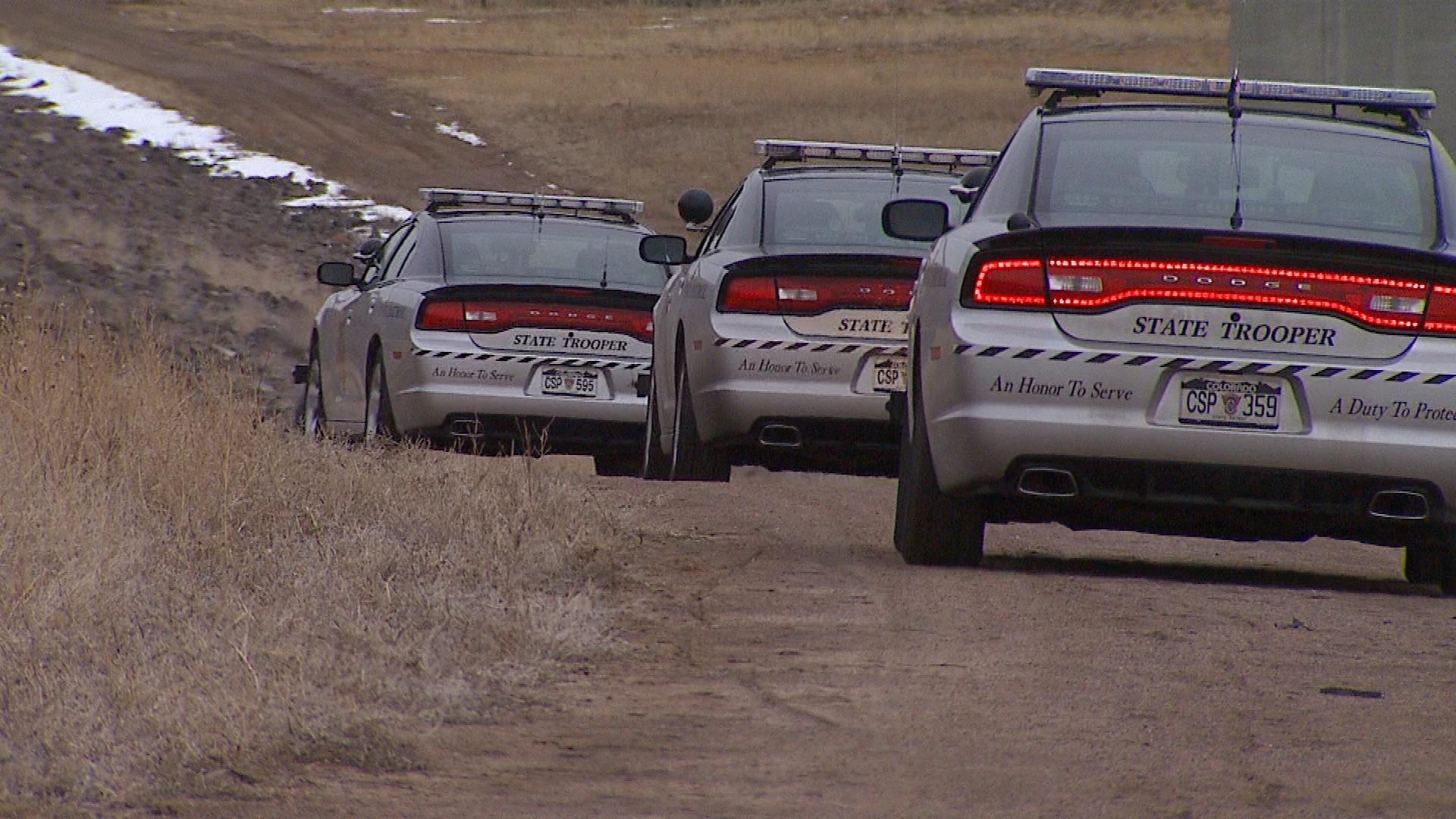 Colorado State Patrol (credit: CBS)