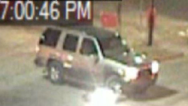 The suspected vehicle (credit: Denver Police Department)