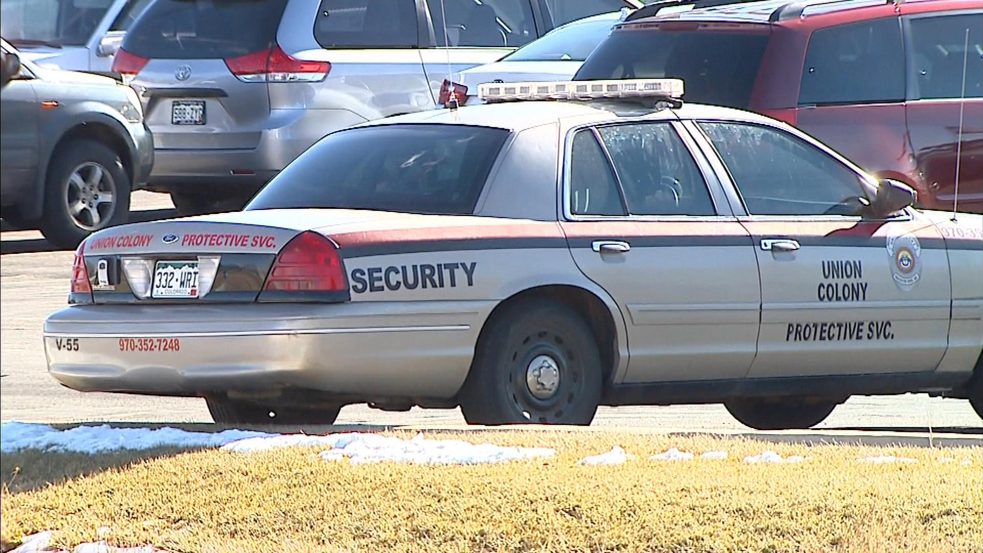Part-time Security at Frontier Academy in Greeley (credit: CBS)