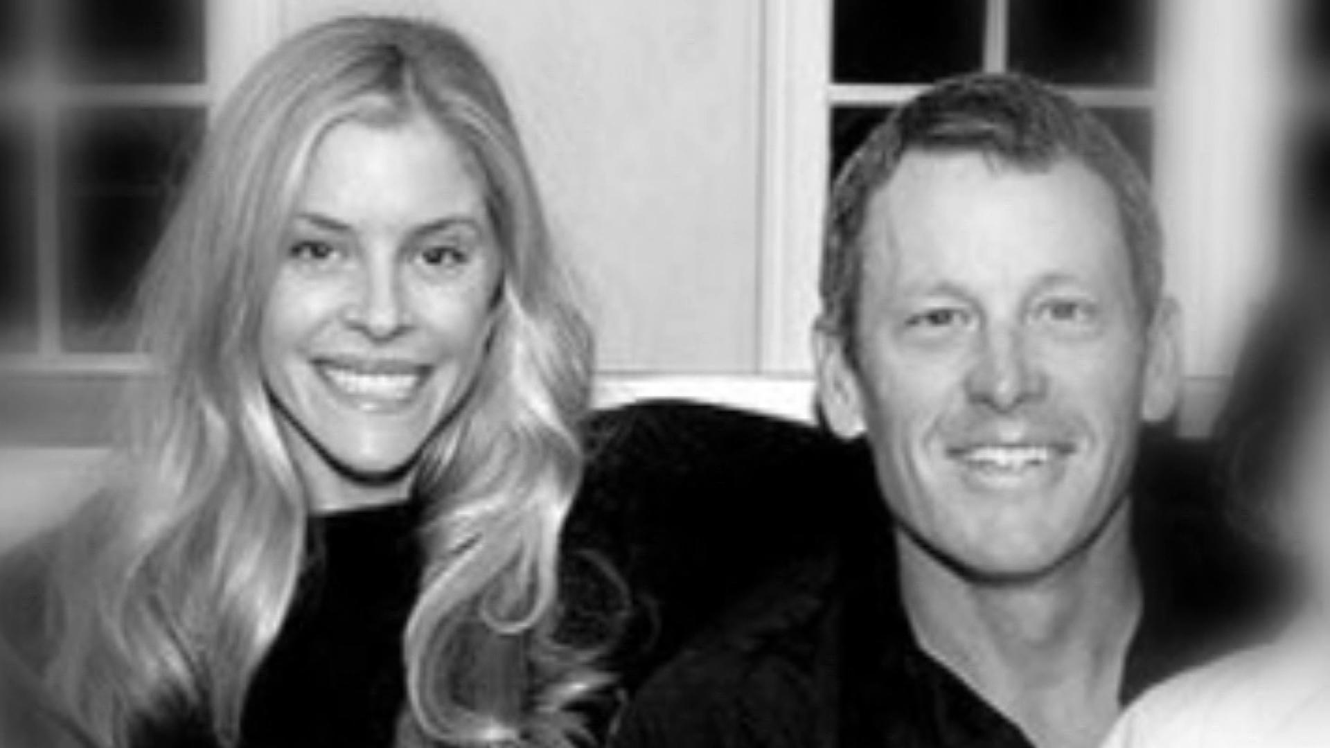 Anna Hansen and Lance Armstrong (credit: Lance Armstrong/Twitter)