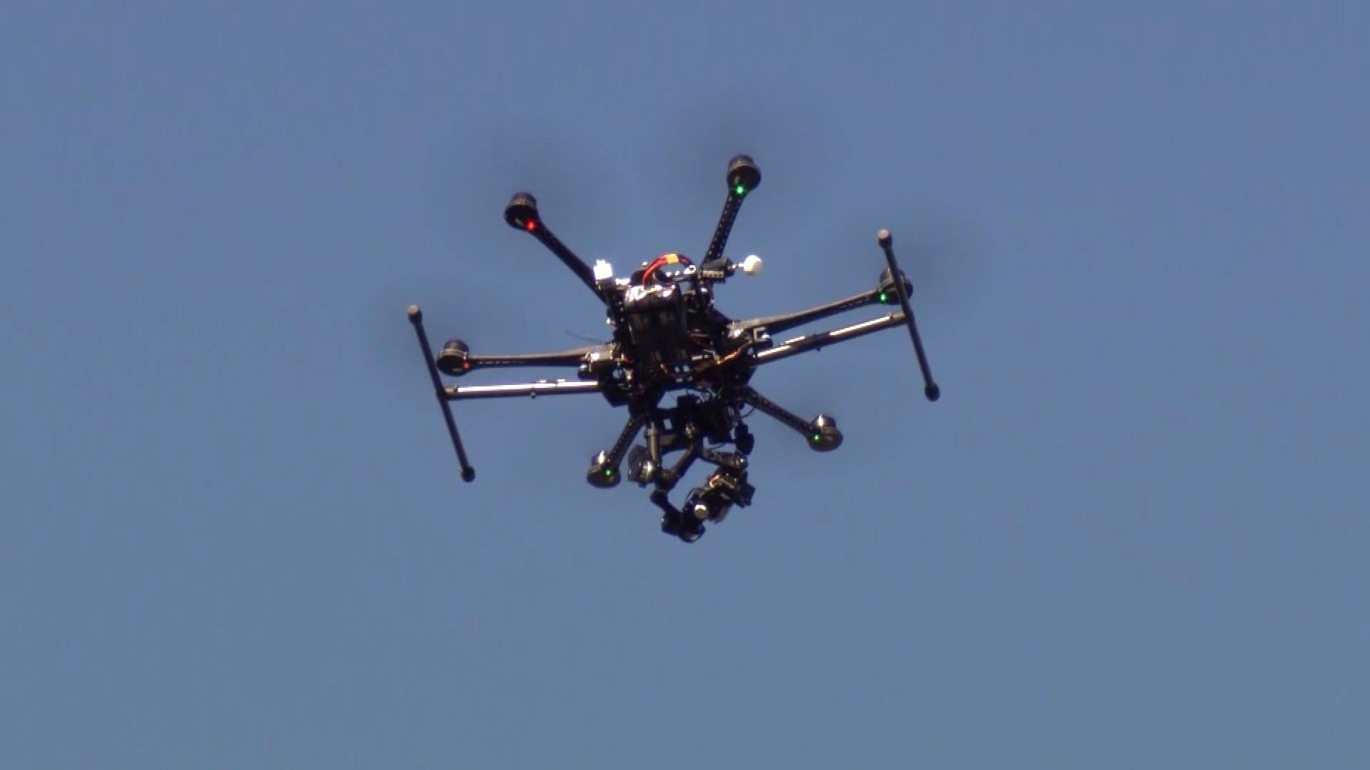 A drone (credit: CBS)
