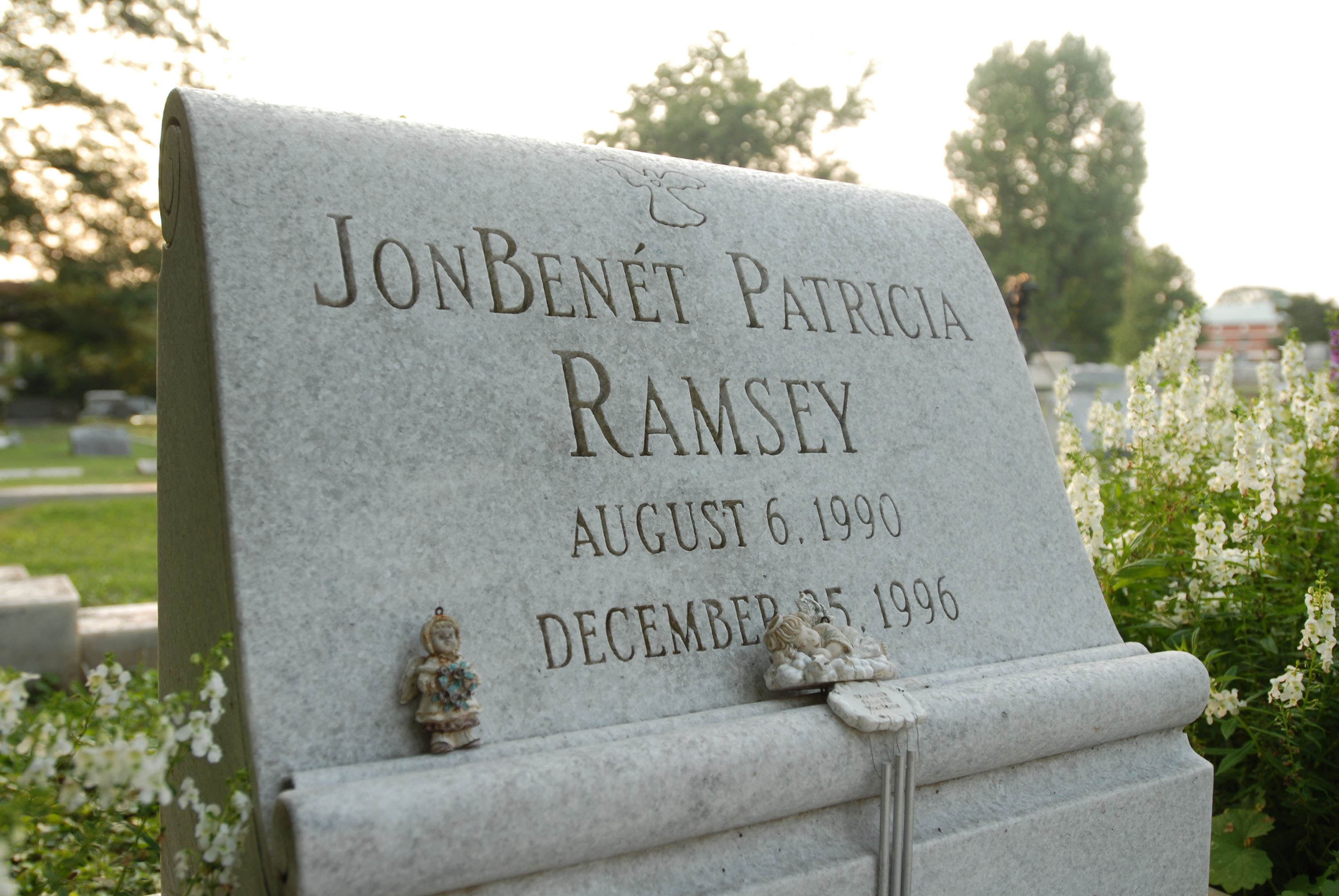 The grave of JonBenet Ramsey. (credit: Barry Williams/Getty Images)