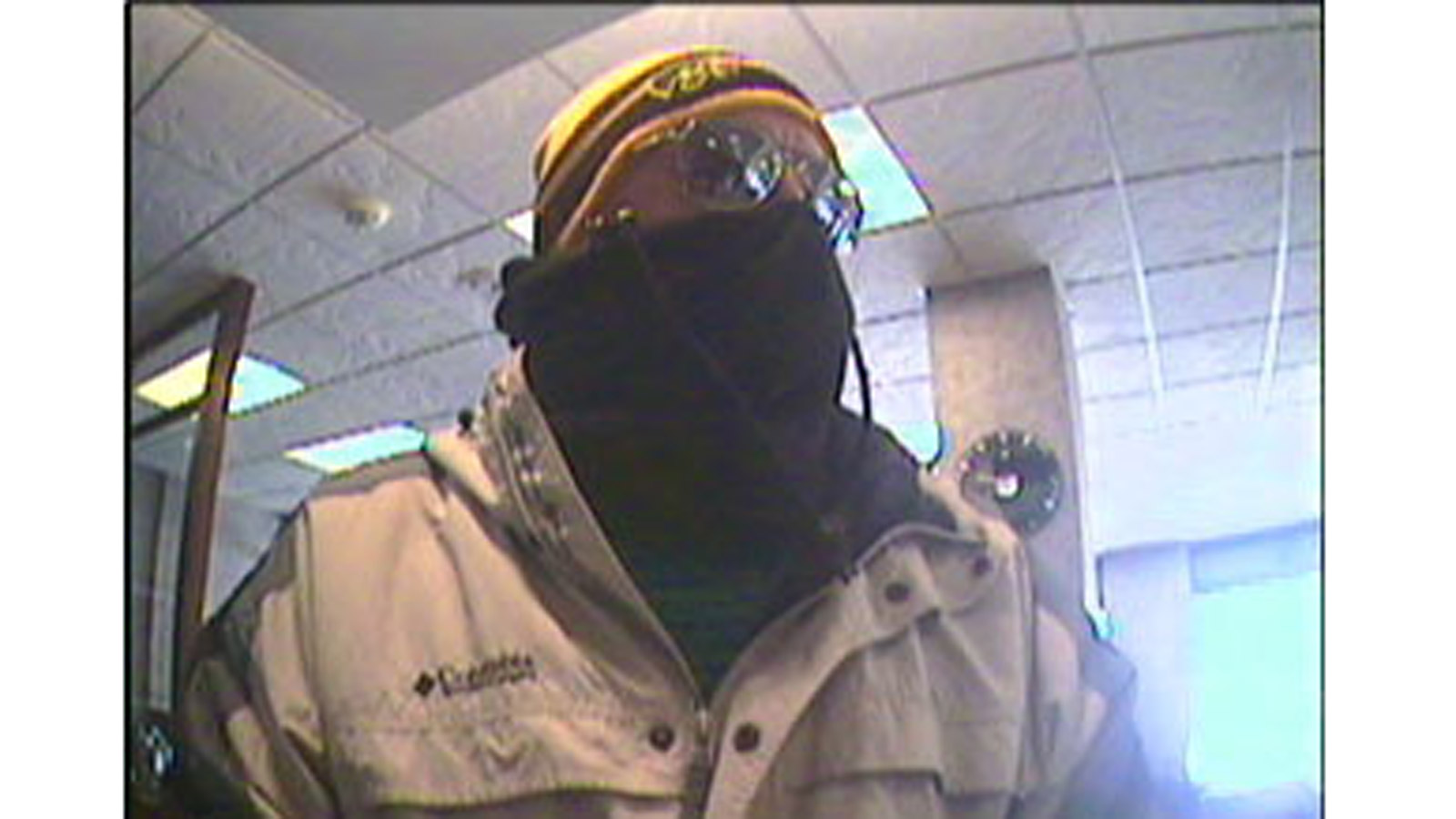 The FirstBank robbery suspect on Feb. 4, 2014 (credit: Boulder Police)