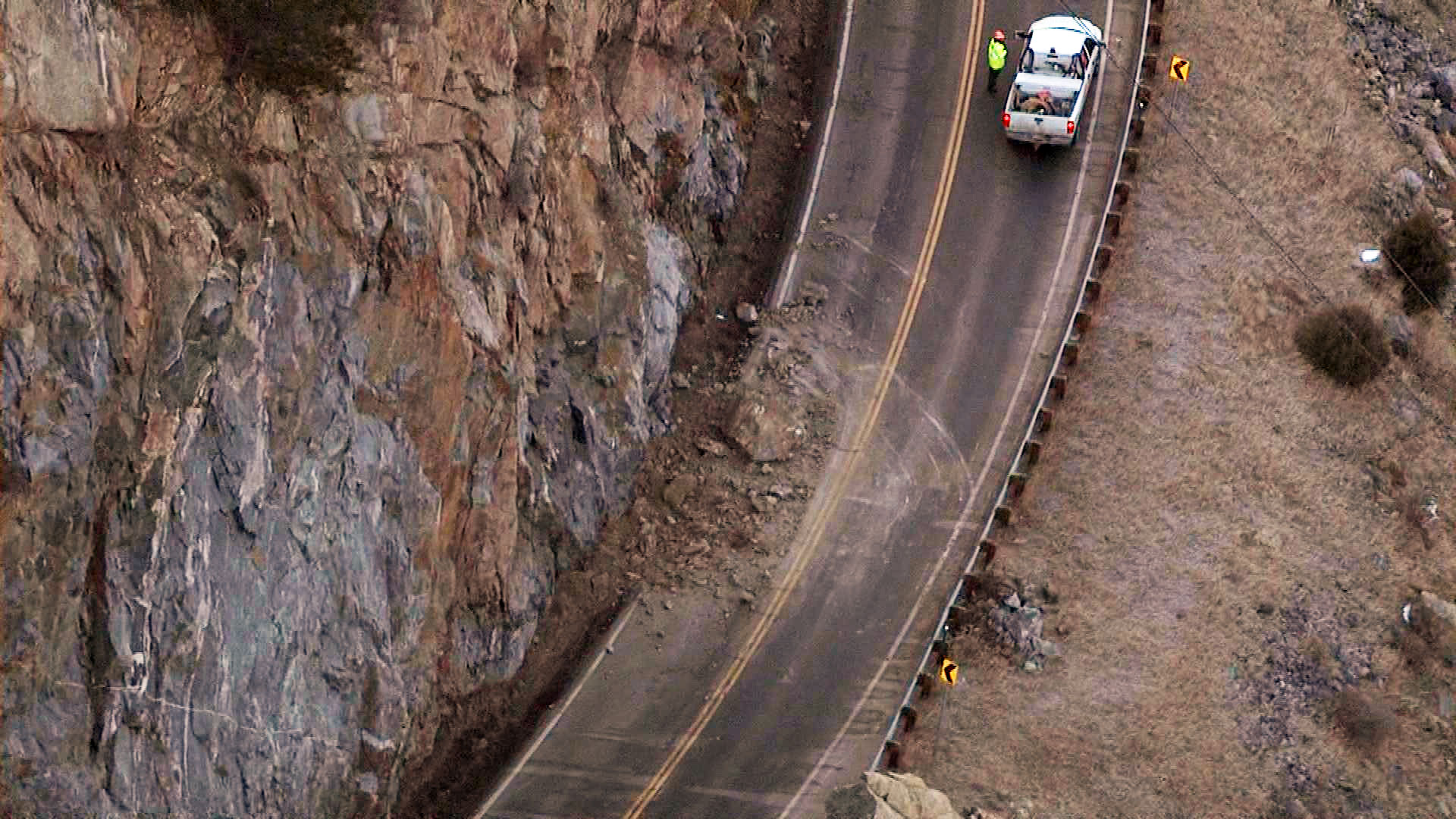 An image of the slide from Copter4 (credit: CBS)