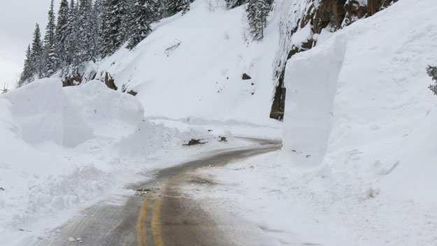 Red Mountain Pass (credit: Dan Bender of the La Plata County Sheriff's Office )