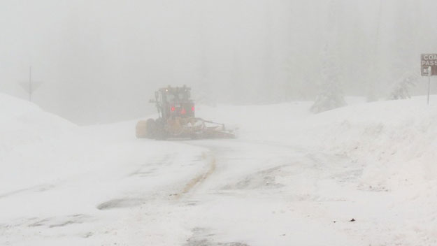 Red Mountain Pass avalanche mitigation (credit: CDOT)