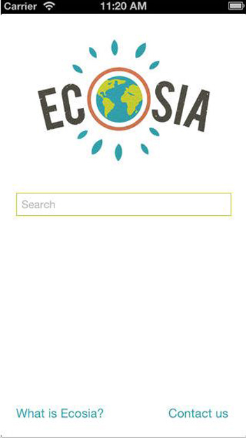 Ecosia App (Photo Credit: Apple App Store)