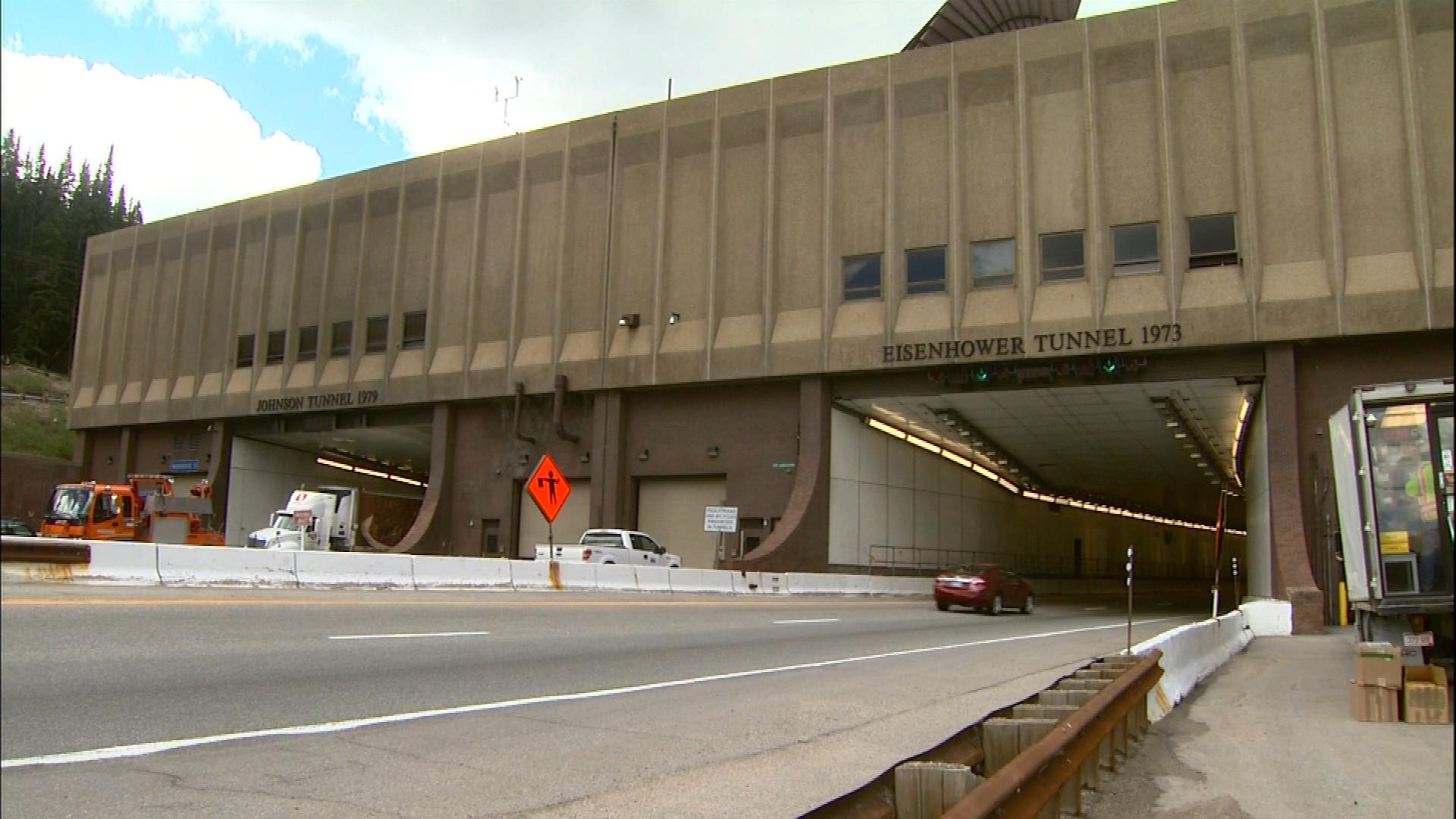 The Eisenhower-Johnson Memorial Tunnels (credit: CBS)