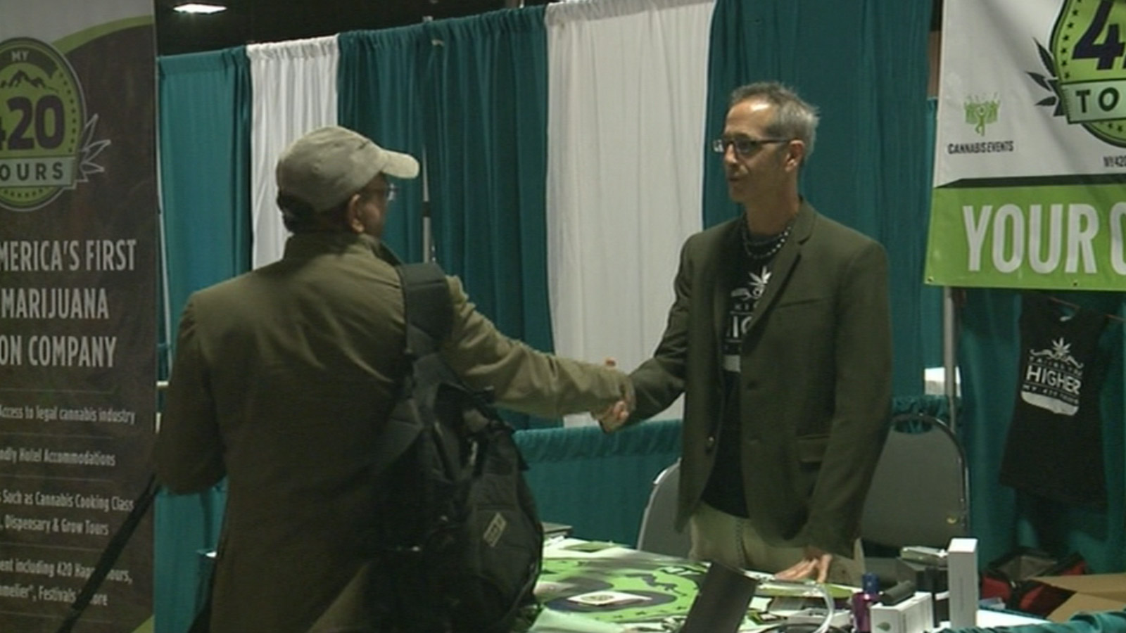 Marijuana Investor Summit (credit: CBS)