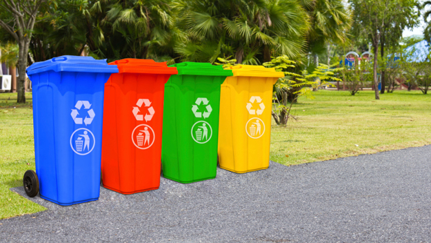Recycling Bins (Photo Credit: Thinkstock)