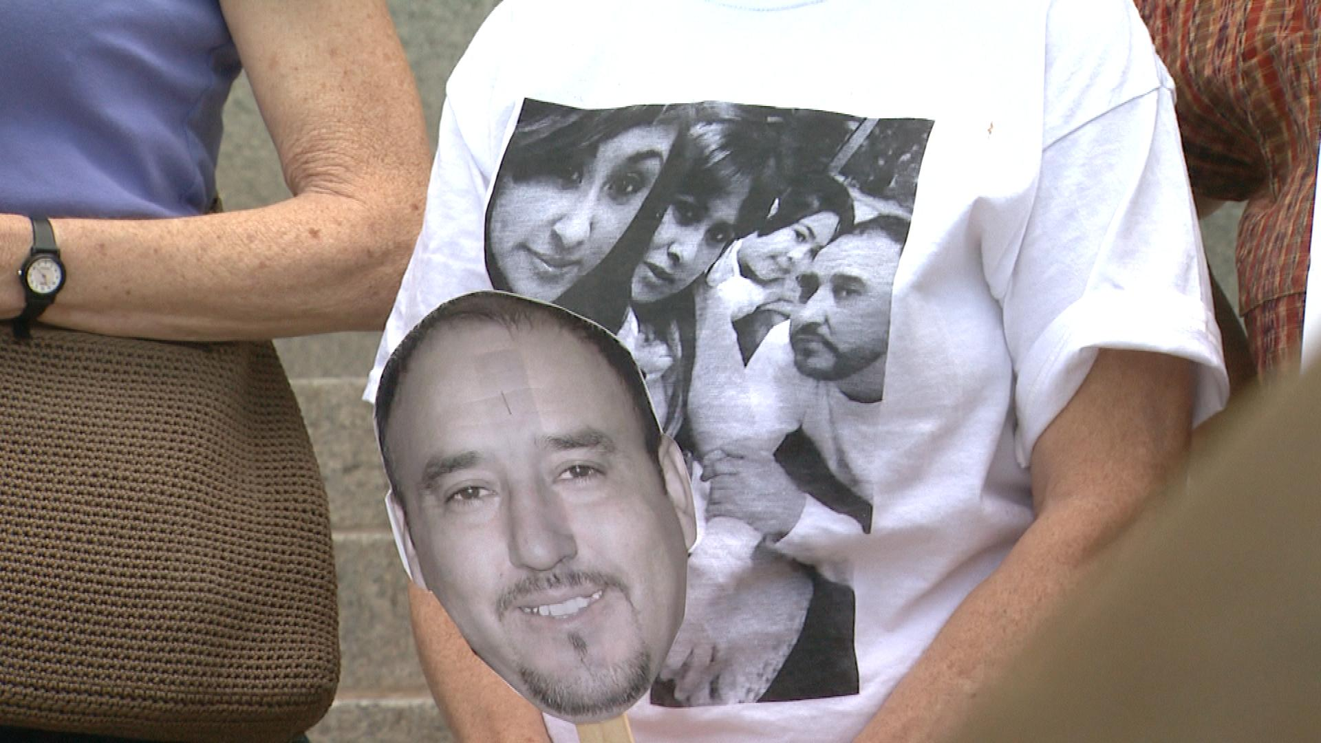 Support for Arturo Hernandez (credit: CBS)