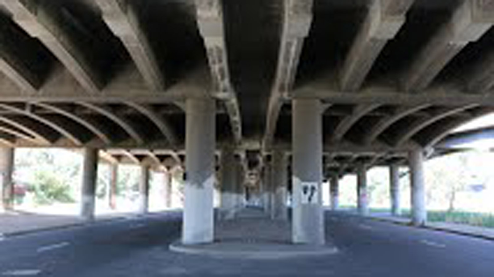CDOT said the I-70 east viaduct is showing signs of deterioration (credit: CDOT)