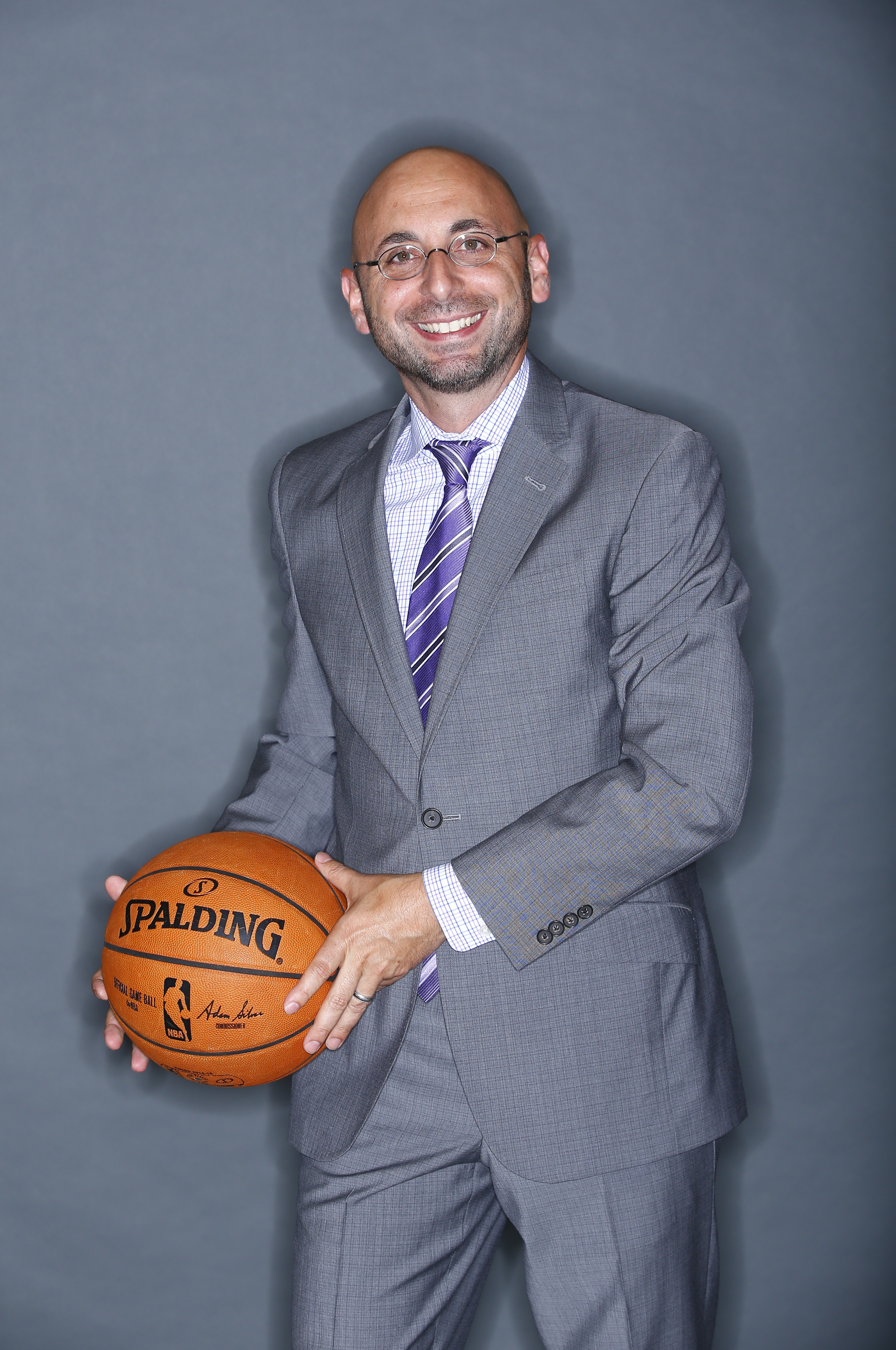 Pete D'Alessandro of the Sacramento Kings poses for a photo on media day Sept. 26, 2014. (credit: Rocky Widner/NBAE via Getty Images)