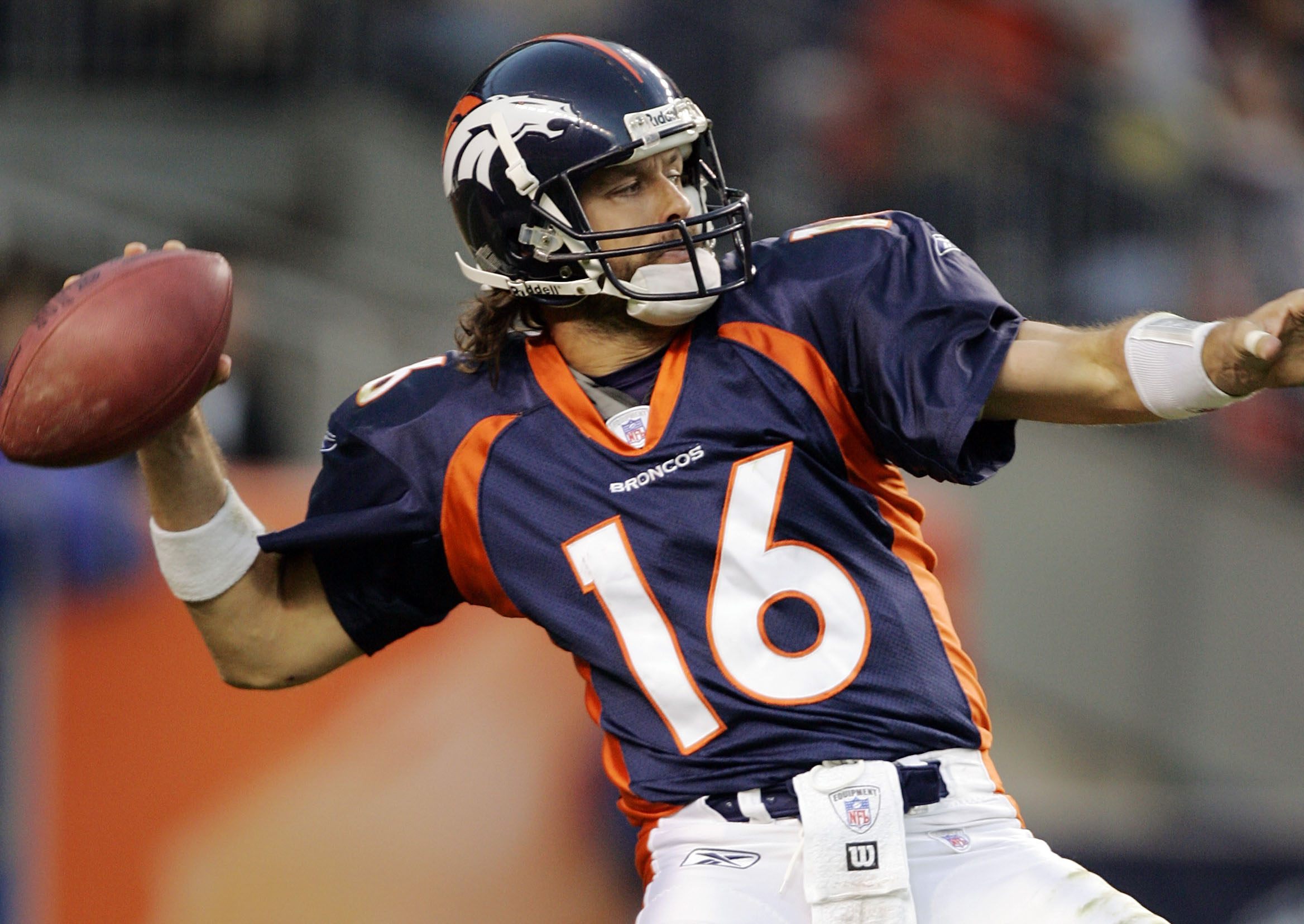 Jake Plummer in 2005 (Photo by Brian Bahr/Getty Images)