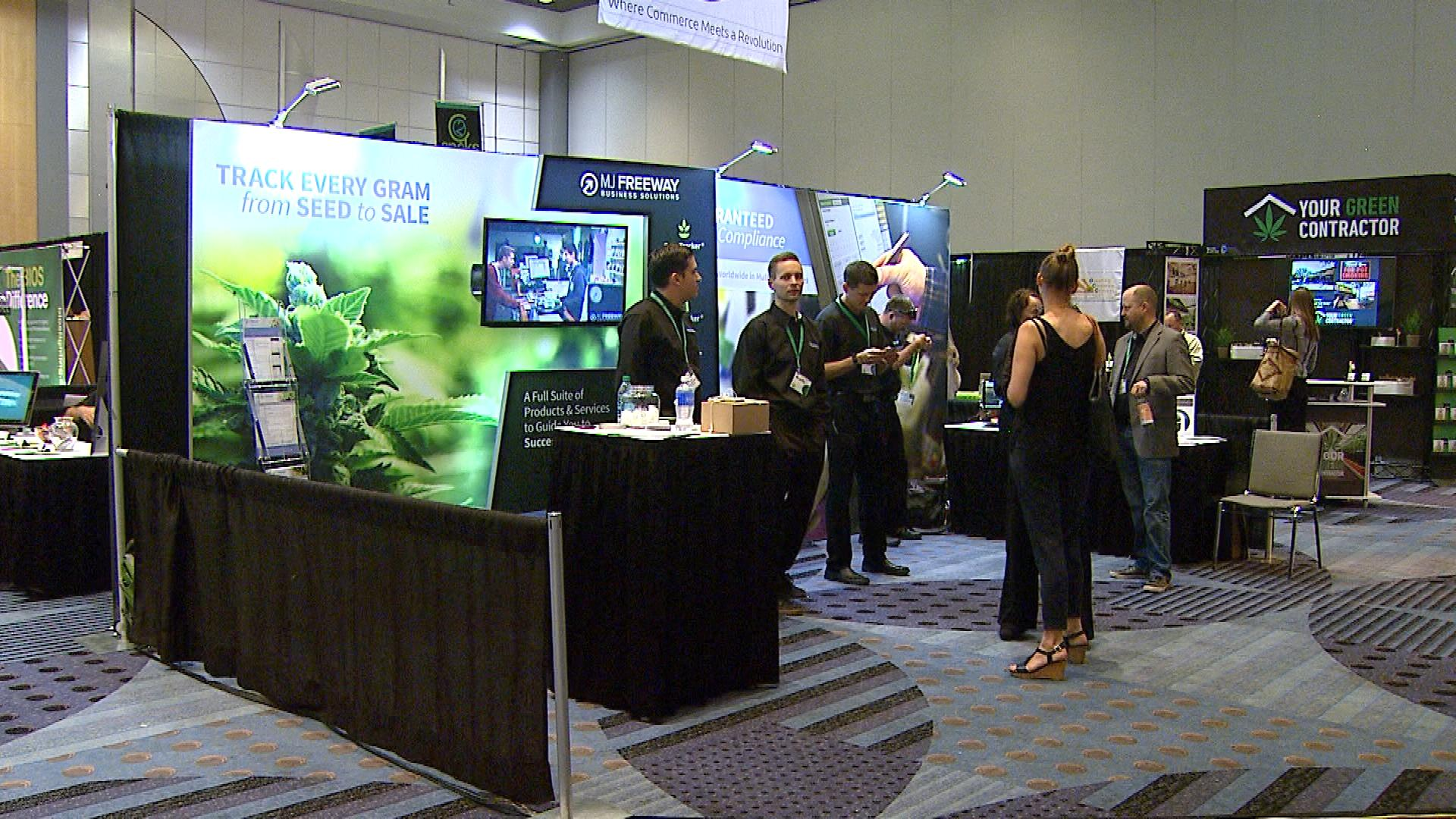 The Cannabis Business Summit at the Colorado Convention Center (credit: CBS)