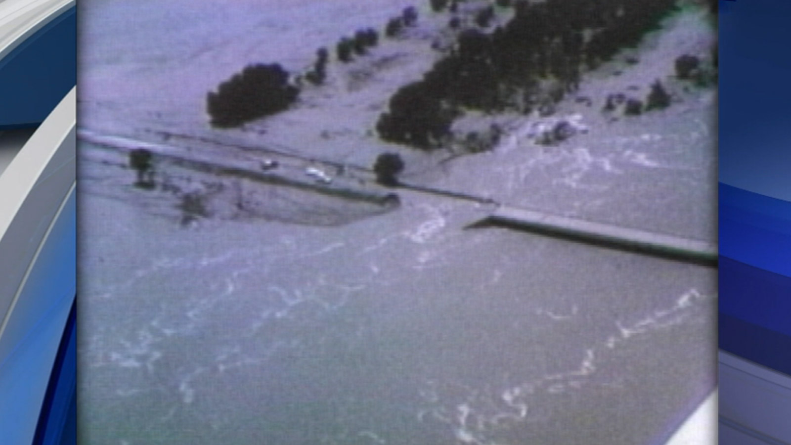 South Platte River flooding in 1965 (credit: CBS)