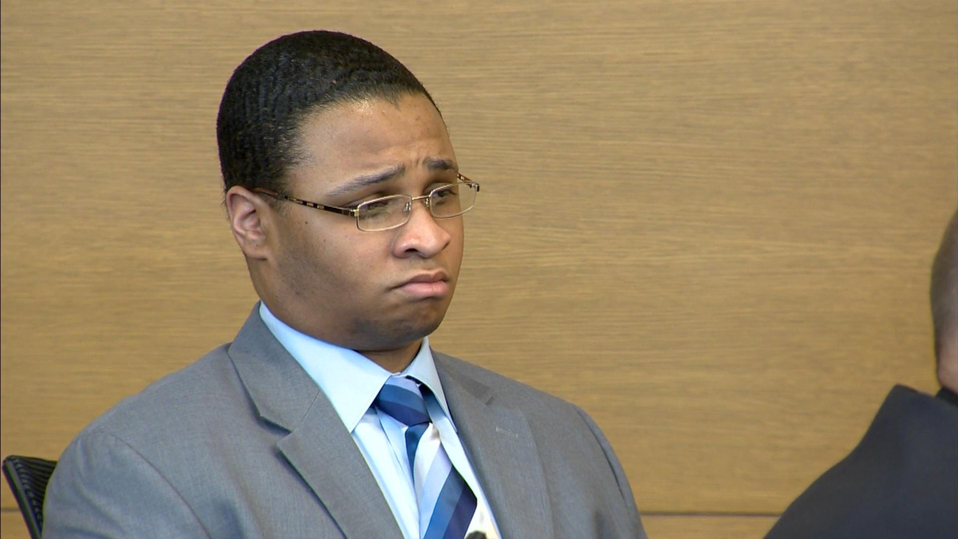 Dexter Lewis in court on Monday (credit: CBS)