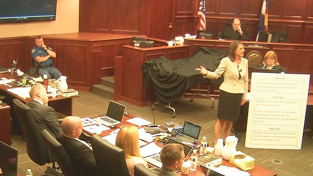 Defense attorney Tamara Brady during closing arguments on Thursday (credit: CBS)