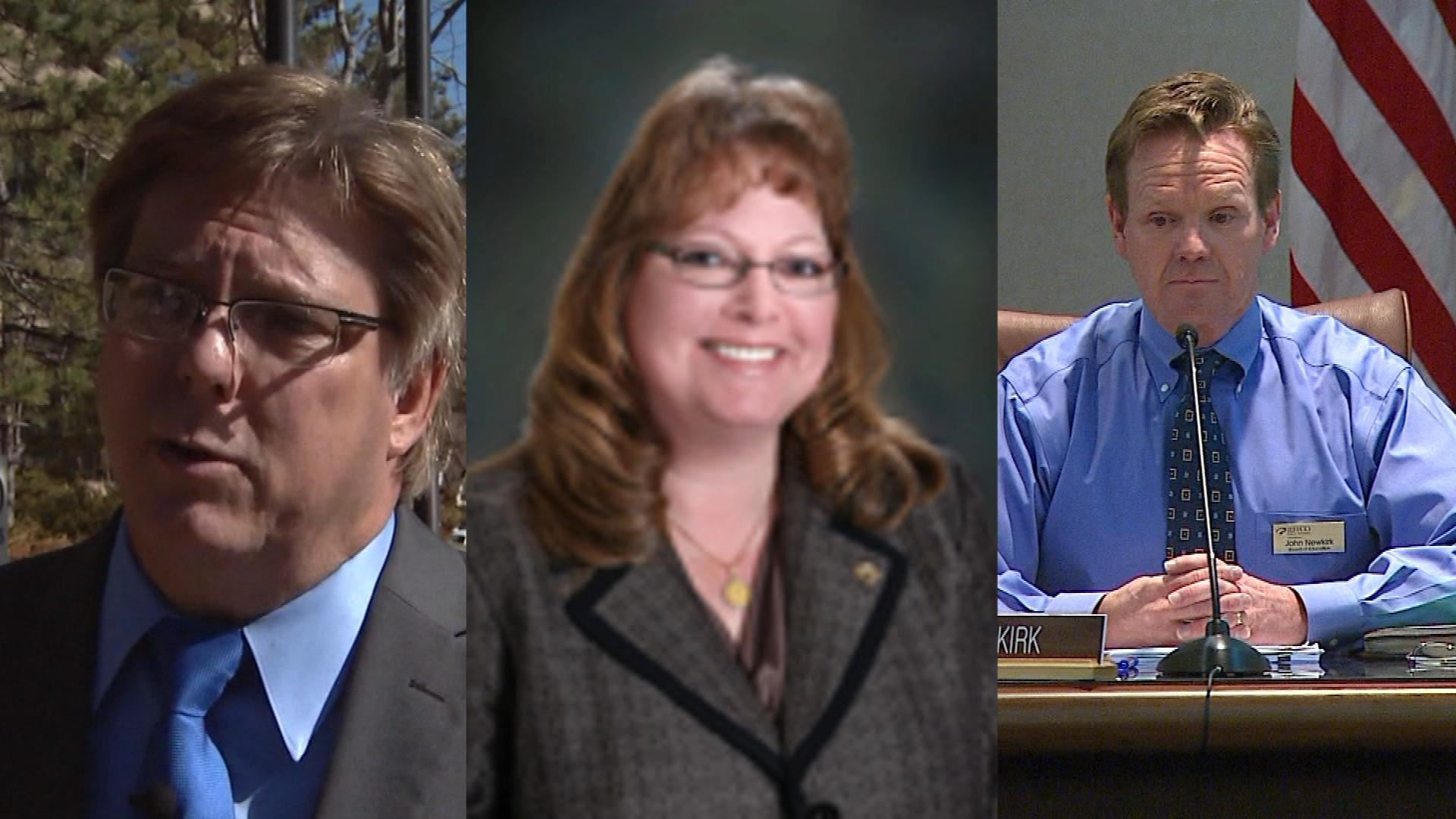Ken Witt, Julie Williams and John Newkirk (credit: CBS)