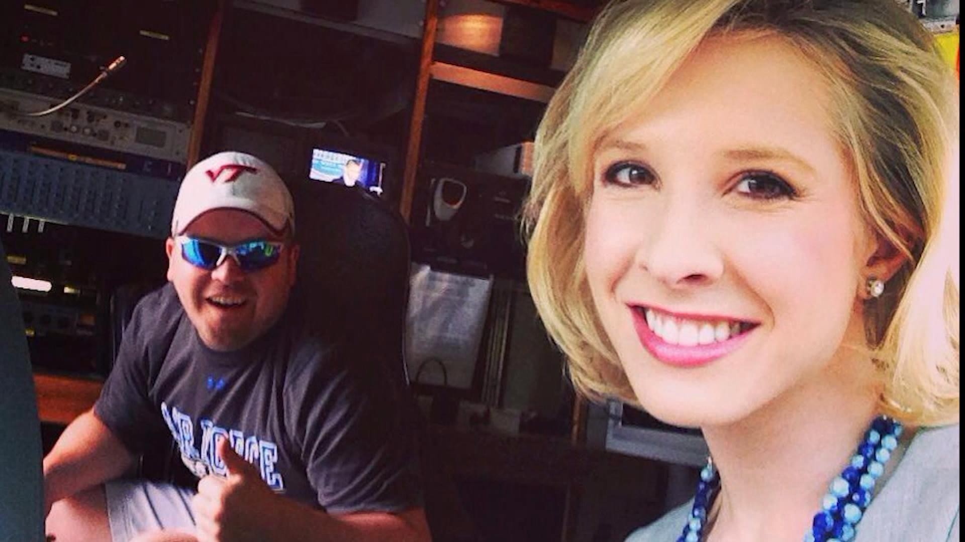 Adam Ward and Alison Parker (credit: CBS)