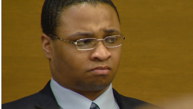 Dexter Lewis in court on Wednesday (credit: CBS)