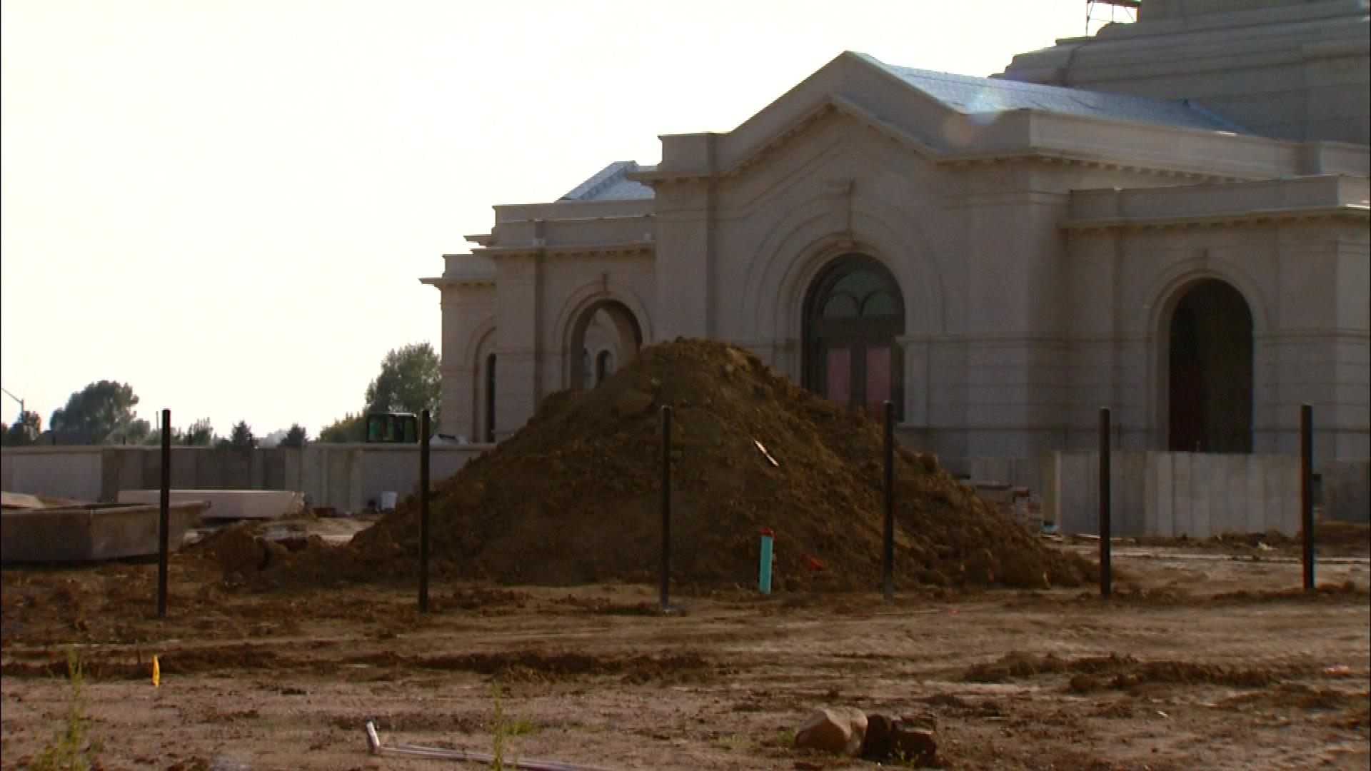 The site of the new church (credit: CBS)