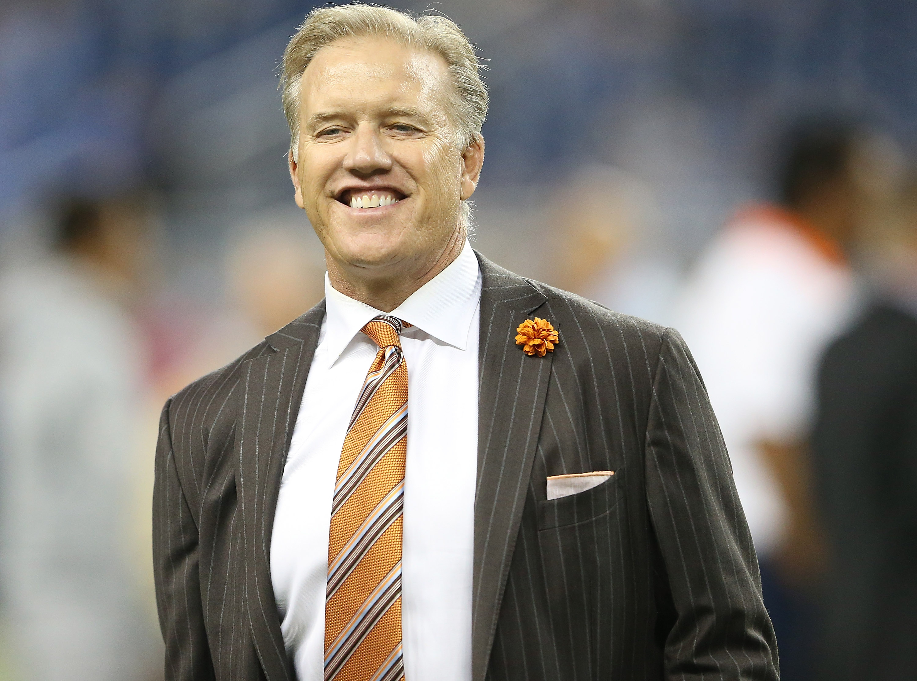 John Elway (Photo by Leon Halip/Getty Images)