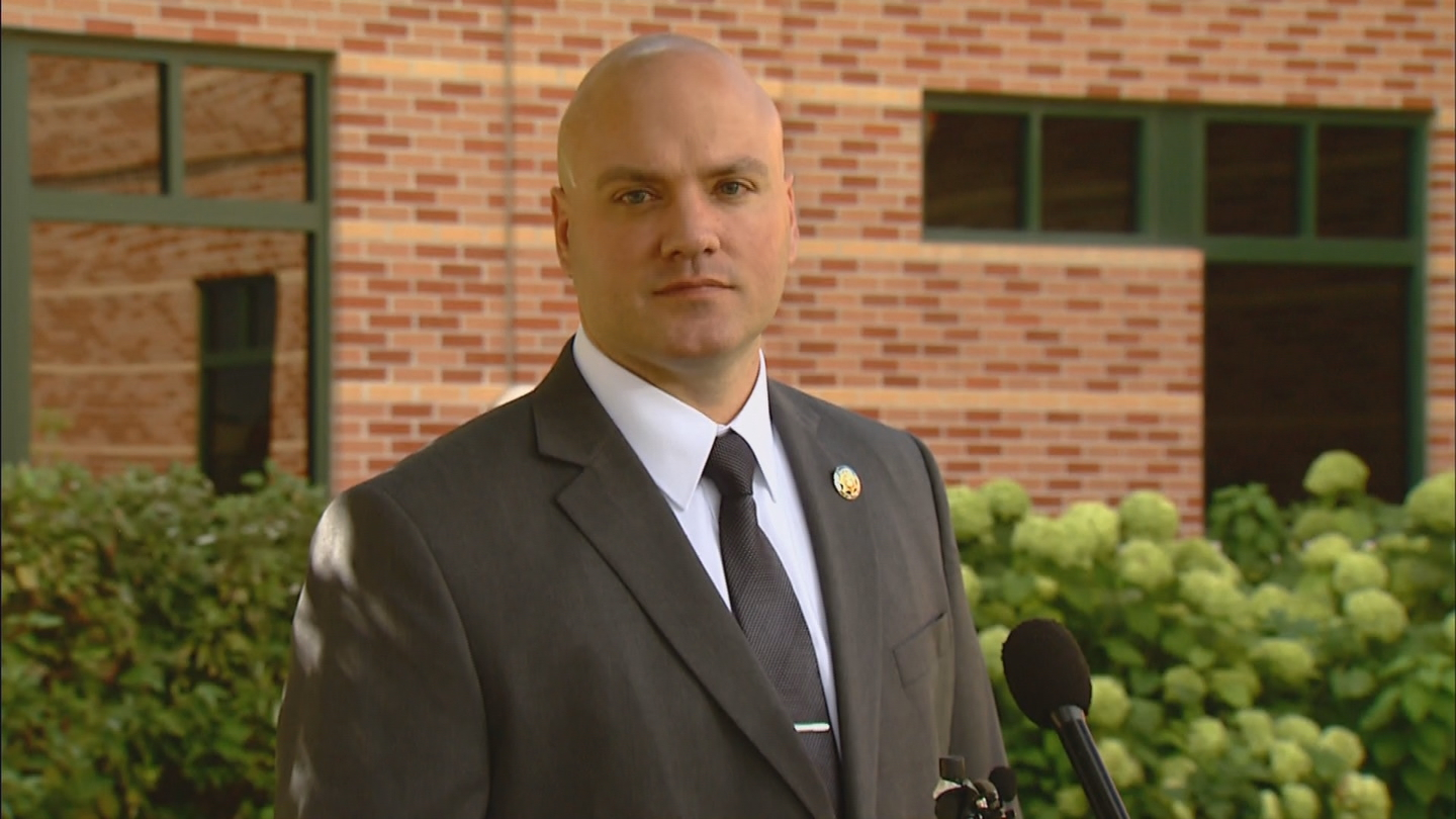 Larimer County Sheirff's Office spokesman David Moore (credit: CBS)
