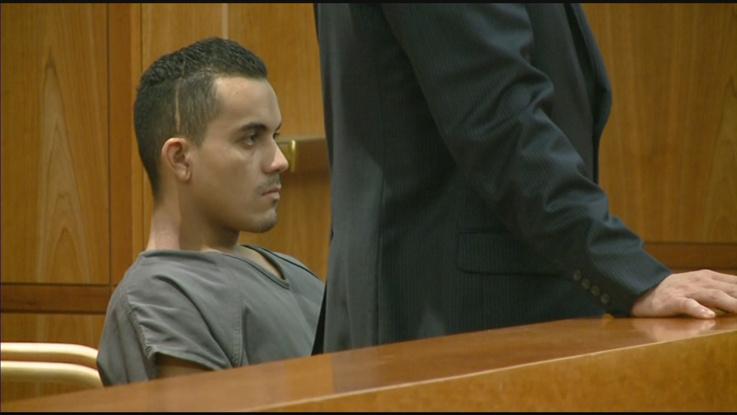 Roman Morales appeared in Jefferson County Court (credit: CBS)