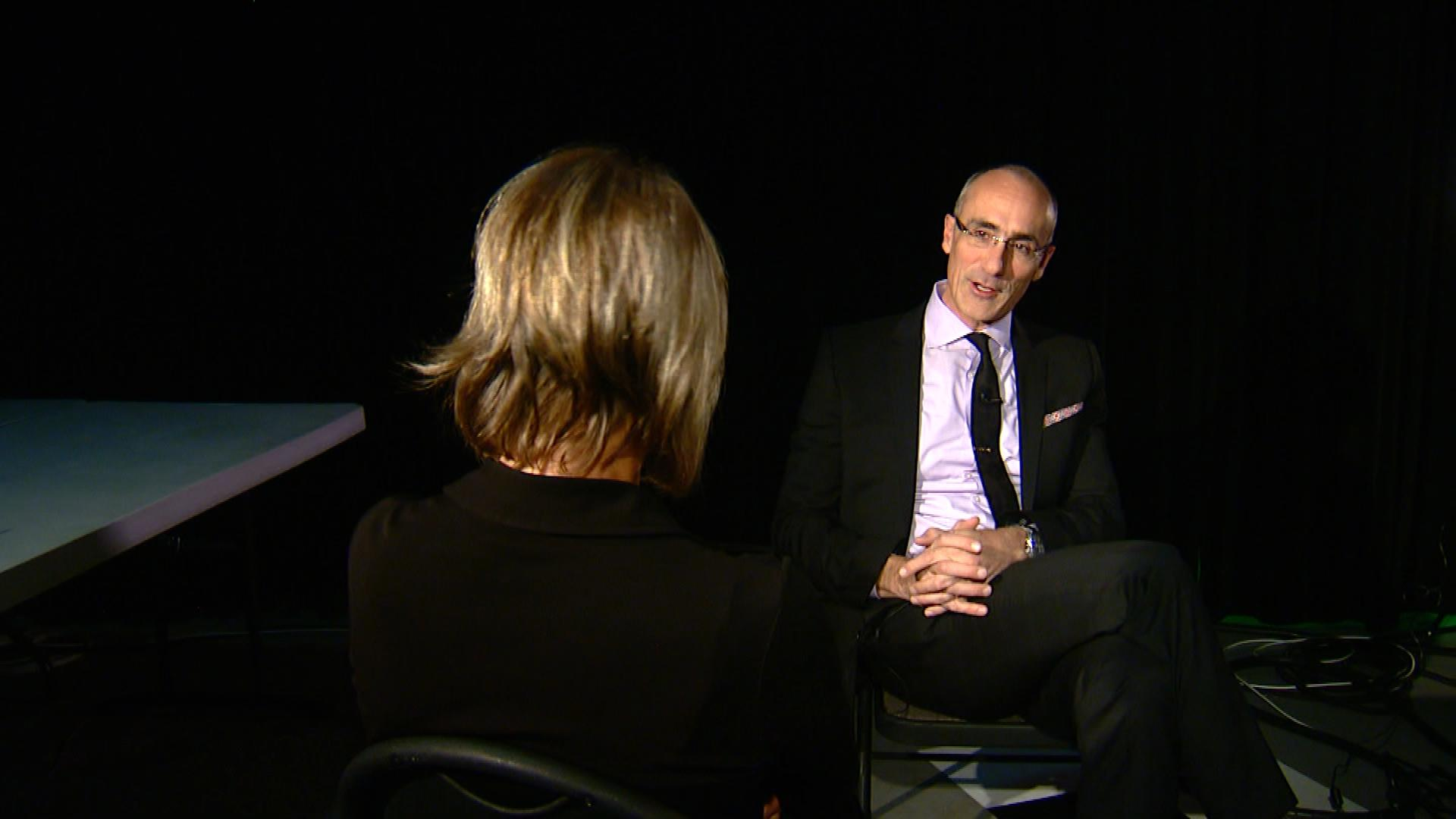 CBS4 Political Specialist Shaun Boyd sat down with Arthur Brooks (credit: CBS)