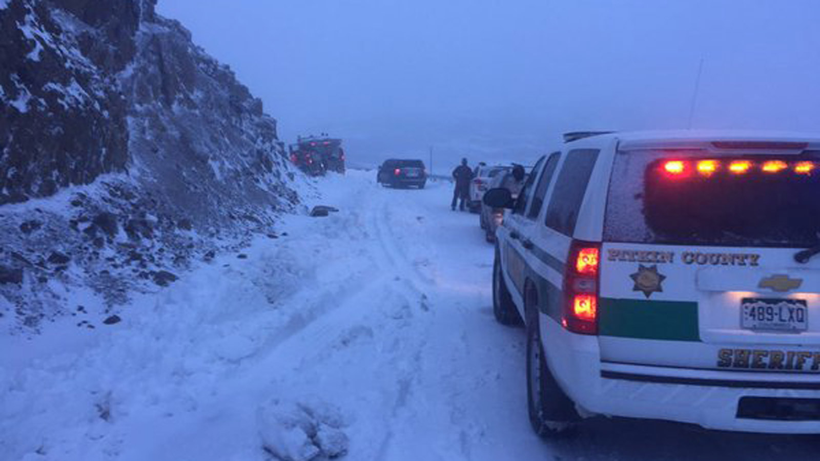 Independence Pass on Oct. 23, 2015 (credit: Pitkin County Sheriff's office)