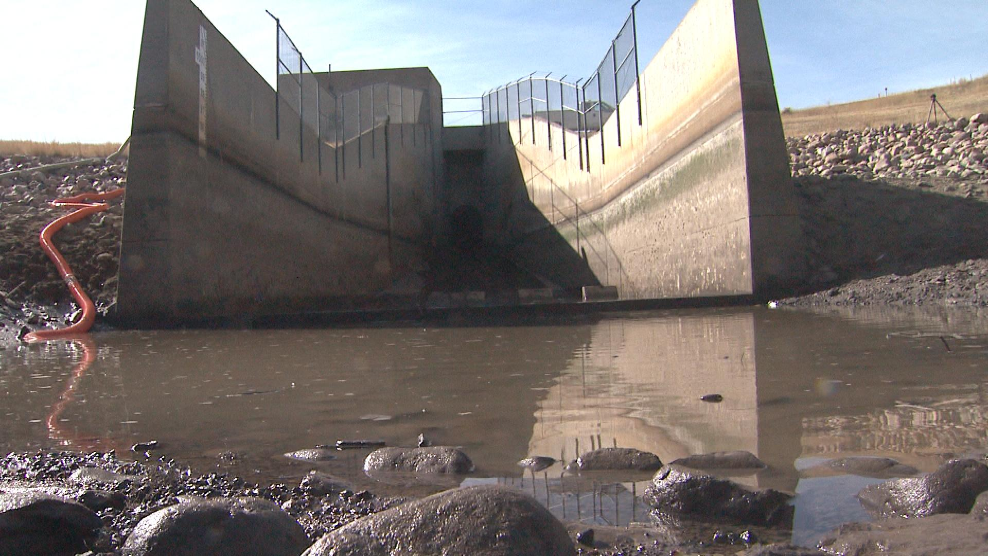 Bear Creek Dam (credit: CBS)
