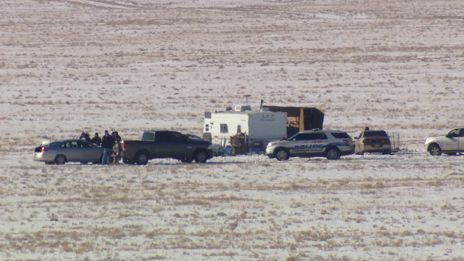 Robert Lewis Dear's property in Park County (credit: CBS)