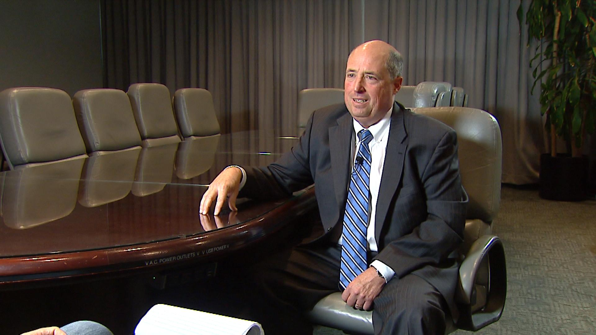 Tom Raynes with the Colorado District Attorneys' Council (credit: CBS)