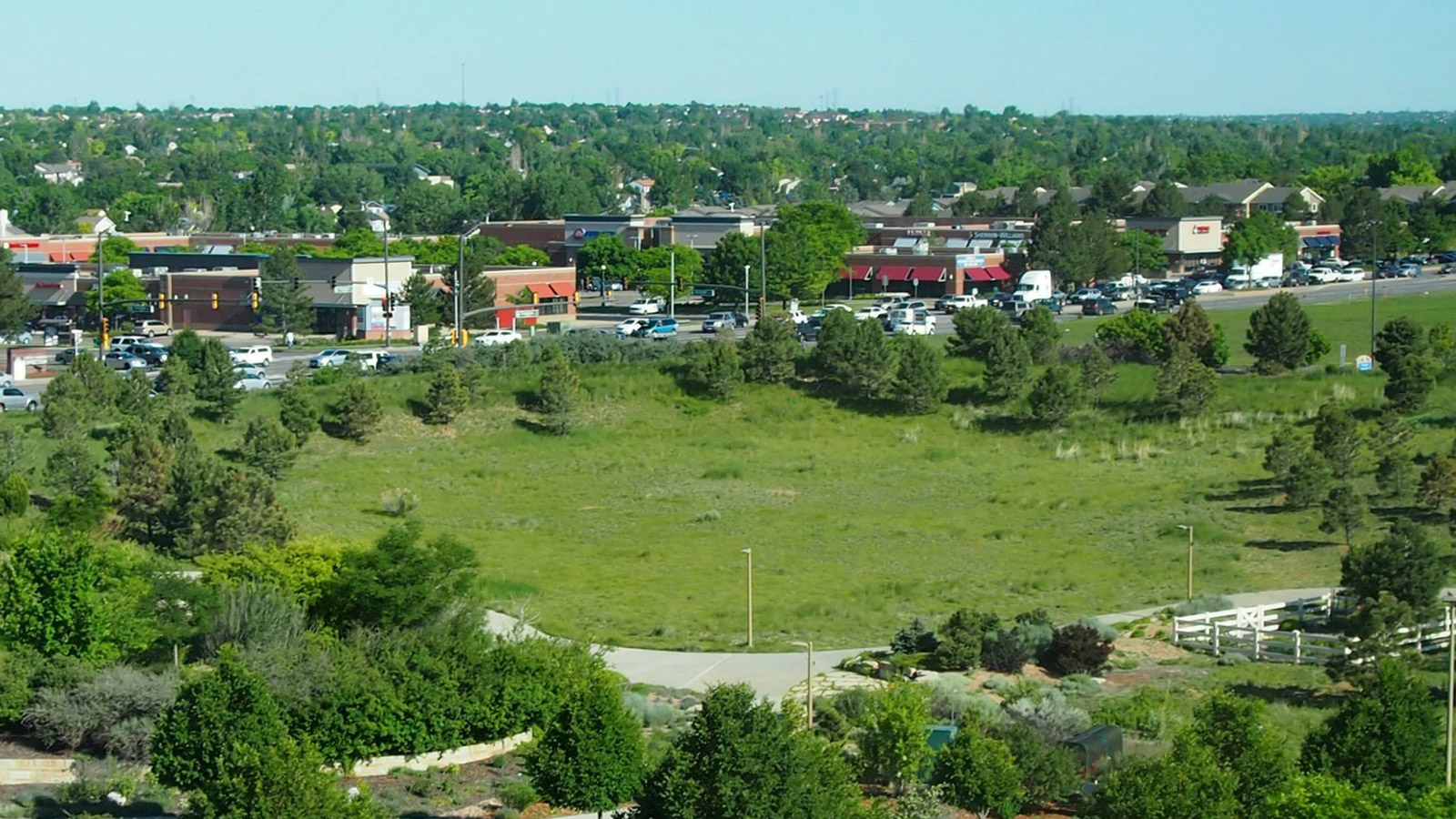 The land where the memorial would be placed (credit: City of Aurora)