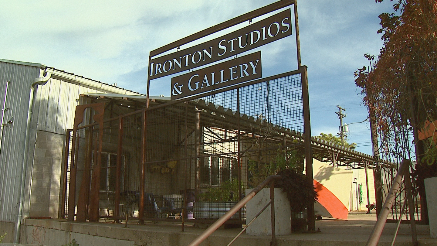 Ironton Studios & Gallery in the RiNo Arts District (Credit CBS)